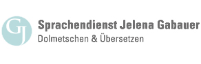 Logo Professioneller Sprachendienst Jelena Gabauer,